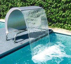 Astralpool Rideau Cisne 1000–Fontaine cascade cygne pour piscine–Jeux et ornements aquatiques–34390