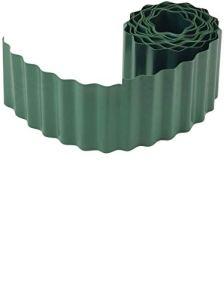 Connex FLOR14220 Bordure de Pelouse PVC Vert 200 mm x 9 m