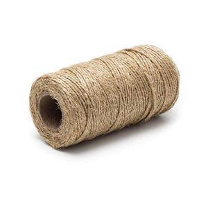 Corde de jute naturelle pour emballage cadeau, décoration, jardinage 6,35 mm
