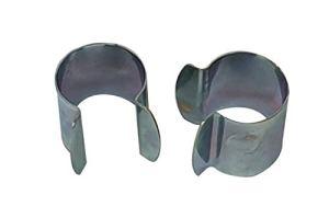 Culture-Serres Lot de 60 Clips de Fixation en métal – D. 25mm