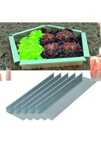 Décamp – Clôture métallique modulaire anti-limaces