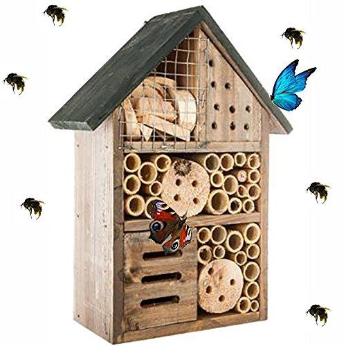 Générique Hôtel à Insectes – abri refuge nichoir maison abeille papillon coccinelles
