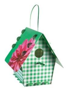Group Tweet Tweet Home Nichoir classique en kit Plastique–Vichy Vert