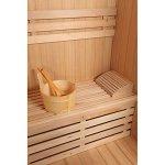 Home Deluxe Skyline L Sauna traditionnel en bois avec accessoires inclus 120 x 150 x 190 cm