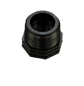 Hozelock 8963 3726 Mamelon de raccord de tuyaux avec filetages intérieurs et extérieurs 1 x 3/4″