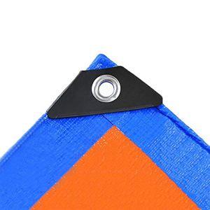 JYSYZG Housse de Meubles de Jardin en Nylon Oxford PVC imperméable à la poussière rectangulaire 2 Couleurs 12 Tailles (Couleur : Bleu, Taille : 170 x 94 x 70 cm), Bleu, 100x100x85cm