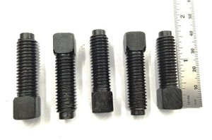 Lot de 5carrés Tête Boulons M10x 1,5Filetage pour T2Tour à changement rapide de l'Outil Post de support
