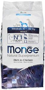 MONGE NATURAL SUPERPREMIUM Dog Medium Chicken Dry Dog Food,