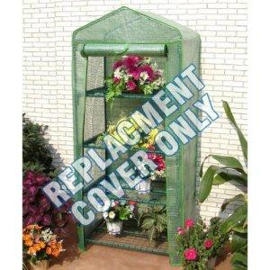 My Garden Path Housse de rechange en polyéthylène pour serre 4 étages 160 x 69 x 49cm