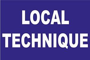 Panneau «Local technique»