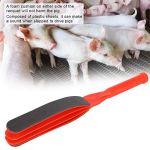 Shift outil vétérinaire planche de capture de porc, les porcs battent, se déplacent bat la longue tige de bâton portative en plastique pour les animaux de compagnie de porc