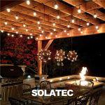Solatec Guirlande lumineuse LED d'extérieur