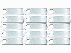 15x Lames de scarificateur adapté pour Kynast 35V405 Scarificateur