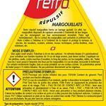 ACTO Retro RÉPULSIF Pret A l'emploi Liquide MARGOUILLATS 750 ML RELEZ1