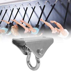 Annjom Support de hamac de Yoga en Acier Durable, Disque de hamac de Yoga résistant à l'usure, pour Les Amateurs d'entraînement débutants