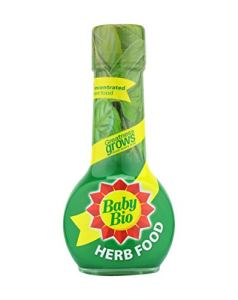 Baby Bio Engrais concentré pour plantes d'intérieur 175 ml Herbes. Vert