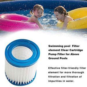 Élément filtrant de piscine, 300 gallons sur le sol pompe de circulation de piscine filtre élément filtrant pompe de filtre accessoires