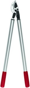 FELCO 11510061 11510061-Podadera yunque curvo 2 Manos 800 mm Corte Hasta 40 mm 231-80, Argent/Rouge, Anvil Curved Blade