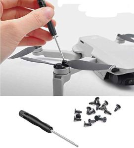 Fenmic Vis d'hélice + outil de réparation de tournevis pour DJI Mavic Mini 2 / Mini Drone