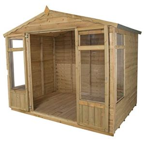 Forest Opasum86hd 2,4x 1,8m Oakley Summerhouse–Naturel