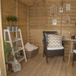 Forest Opasum86hd 2,4 x 1,8 m Oakley Summerhouse – Naturel