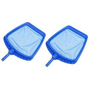 Gaoominy 2 Pcs Filet D'éCumoire de Piscine, Utilisé pour Nettoyer Les Feuilles dans l'eau, Baignoire de Piscine, Fontaine de Piscine de Source Chaude