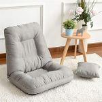 GonFan Canapé Paresseux Style Japonais Chaise de Plancher rembourré Pliable en Coton canapé Pliant chaises de méditation de Jeu vidéo Tatami – Meubles de Loisirs Canapés