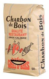Grill O'Bois 571 Charbon de bois qualité restaurant 50 L