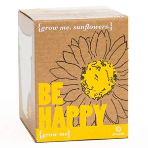 Grow Me Be Happy Coffret cadeau graines de tournesol