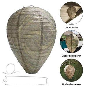 guoxiaolia Original Get Lost Wasp Dissuasion de guêpe Suspendue Non Toxique Naturelle et sûre, adaptée à Une Utilisation dans Votre Jardin, Maison, Salle à Manger extérieure, Camping
