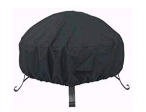 Housse de protection ronde pour brasero – Résistante – Imperméable – Coupe-vent – Protection contre le soleil – Pour éviter les fissures dans un environnement froid, 84cm×50cm
