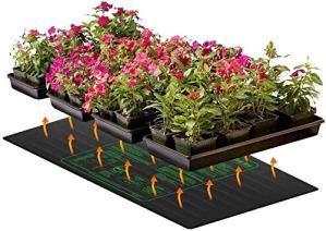 HYDDG Coussin Chauffant pour semis Coussin Chauffant hydroponique IP67 étanche Chaud pour démarreur de semences de Jardin intérieur (48″x 20″)