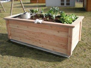 KGT Woody Potager / jardinière surélevée en bois Marron 2,12 m²