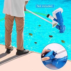 Kit de nettoyage de piscine sous vide pour piscine avec filet de nettoyage pour piscine spa fontaine