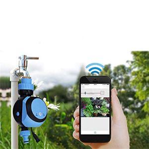 NBNBN Contrôleur D'irrigation de Jardin sans Fil Wife Infini Distance télécommande Micro Vaporiser Appareil d'arrosage Automatique Arroseur D'extérieur Vert (Couleur : Blue, Size : M)