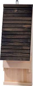 Nichoir à Suspendre pour Chauve-Souris 19,5 x 14 x 53,5 cm
