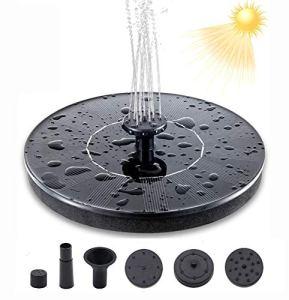 Nitoer Pompe à fontaine solaire
