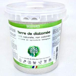 NOVATERA Terre de Diatomée 100% Naturelle – 400 g – Garantie Origine France – Ultrapure – Formats 0,3 à 12 kg – Protection écologique – ECOCERT Utilisable Agriculture Biologique