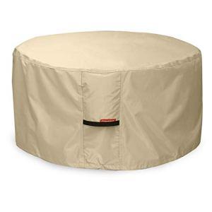 Porch Shield 100% étanche carré 600d Heavy Duty Housse pour Table de Foyer/terrasse 40»L x 40»W x 20″ H Round