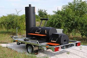 Smoky Fun Grillshop Barbecue Trailer 20″ Economy by Grillshop