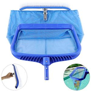 Topnew – Brosse de nettoyage pour piscine et piscine – Maille fine fine – Pour nettoyer les piscines et les baignoires