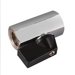 Vanne d'eau-alliage d'aluminium G1/4 interrupteur de vanne d'eau à filetage pour système de refroidissement par eau PC