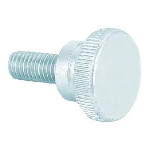Vis à main robuste, vis à tête moletée 10 pièces en acier au carbone zingué, pour appareil électrique à outils(M8*20 (10pcs))