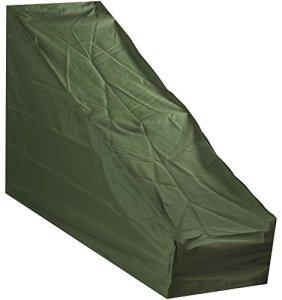 Woodside – Housse de Protection – pour Tondeuse à Gazon – étanche – Vert – Grande Taille