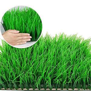 WyaengHai Hedge Artificielle UV Toile De Fond Backyard Mur Jardin Vert Intérieur 12 Boxwood Panneau De Buis Artificielle en Plein Air Panneaux artificiels Boxwood (Couleur : Vert, Taille : 60x40cm)