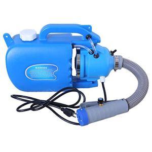 XLOO Pulvérisateur de désinfectant électrique ULV Machine à brumiser Portable Pulvérisateur à très Faible Volume Atomiseur à Main de 1,32 Gallon 110 V / 220 V, 19,6-26,2 pi