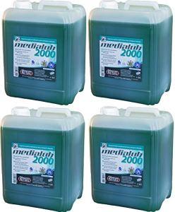 4 x 5 litres d'huile de chaîne biologique KETTLITZ-Medialub 2000 « Blauer Engel » selon le dernier RAL-UZ 178 – testé KWF – huile de chaîne de scie