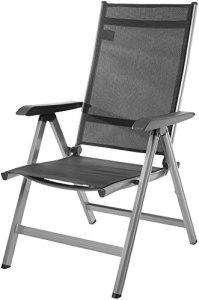 AmazonBasics Chaise d'extérieur réglable sur 5positions