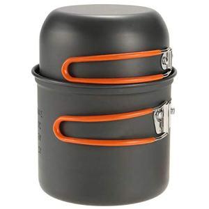 BAIYAN Cuisse de Cuisine en Plein air Camping Pique-Nique Barbecue Cuisual Pique-Nique Pique-Nique Portable Pique-Nique Pique-Nique et empilable (Color : Orange)