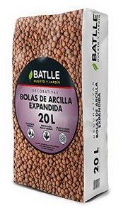 Battle – Substrat de boules d'argile expansée 20 l –